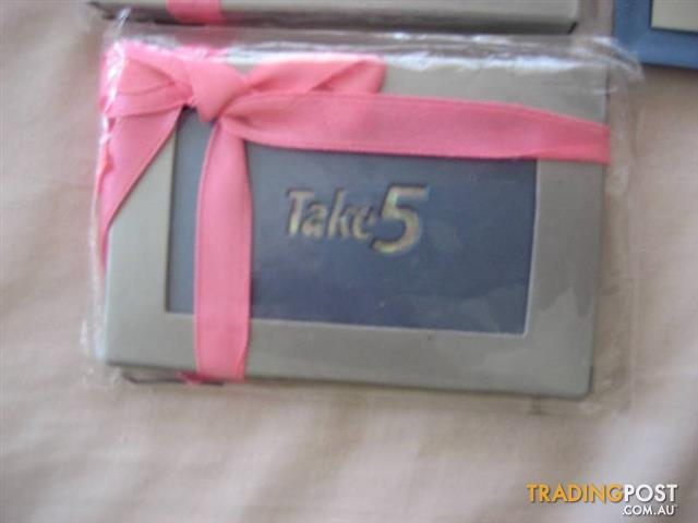 Small Mirror Take5 - Hand Bag Mirror Gift - $10 all