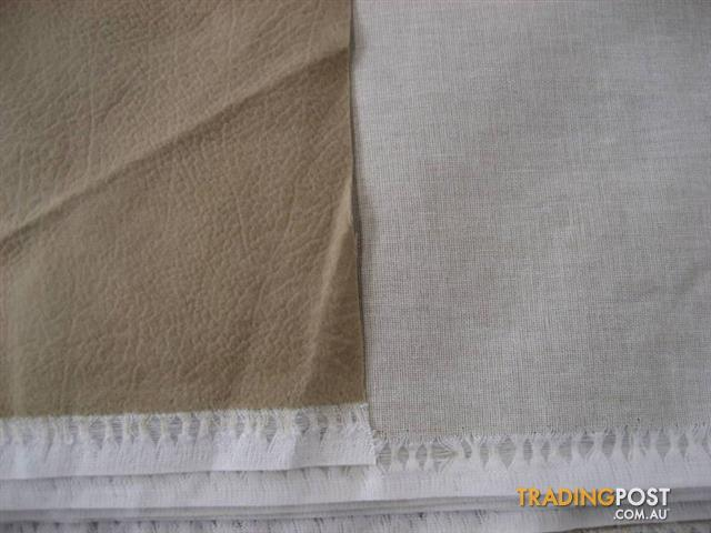 SUEDE PEGIE UPHOLSTERY FABRIC MATERIAL about 16 m - 2 PC
