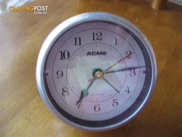 ACME Desk Clock- Alarm