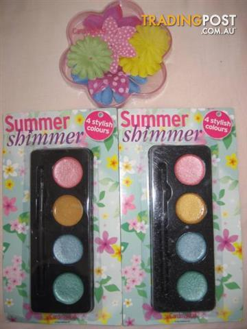 2 Cardmaking Summer Shimmer 4 Stylish Colours And Flowers $10 All