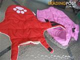 2 Dog-Coats Warm in Winter -Medium $50 both