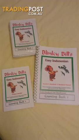 Blinky Bill's Easy Indonesian Teacher handbook and Student Reader