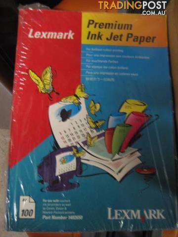 Premium Ink Jet Paper for Lexmark Canon, Epson & Hewlett Packard