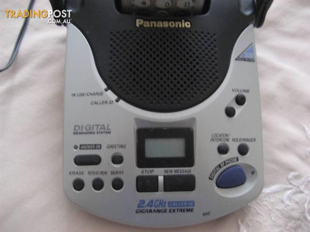 Panasonic 2.4 caller ID GIGARANGE EXTREME KX-TG2570AL