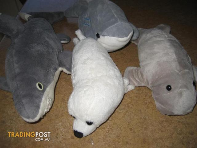 4 SOFT TOYS ANIMALS For $40