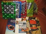 8 books - Guinness Book of Records