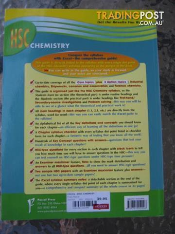 EXCEL HSC CHEMISTRY BY Jim Stamell