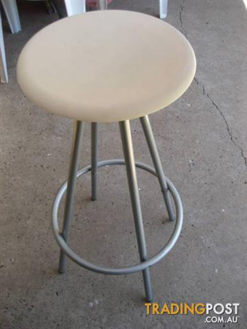 2 Round Bar Stool made in Thailand - $60 both