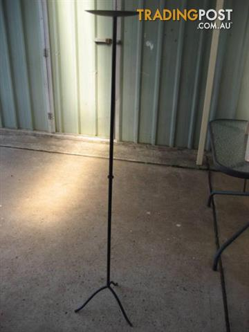Backyard Metal Candle Stand