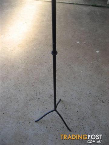 Backyard Metal Candle Stand