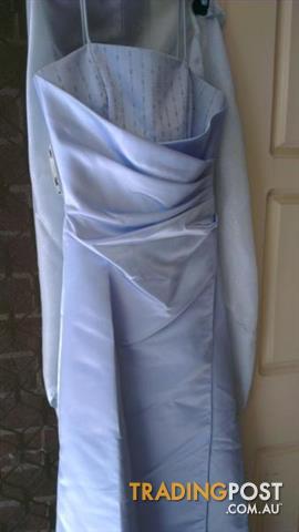 Mr K Dress size 6 - light blue - shawl - Formal dress