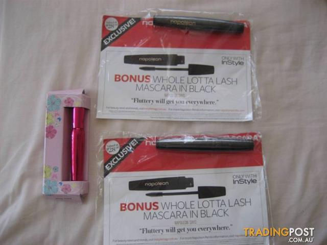 2 napoleon Black MASCARA - 1 Shade Extra Black UK - $15 All