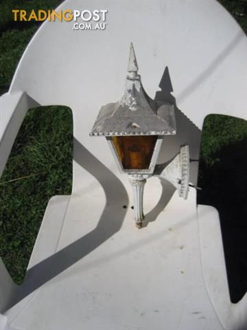 Outdoor Wall Mount silver Lantern Exterior Light Fixture Patio