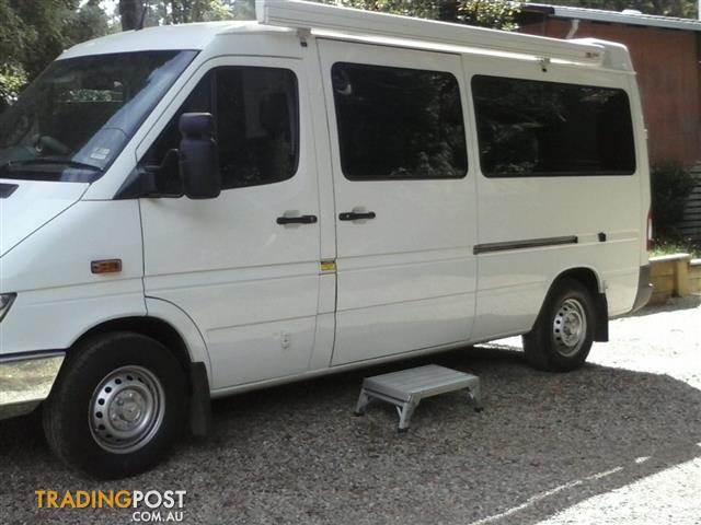 Mercedes benz sprinter camper van for sale in cockatoo vic for Mercedes benz camper vans for sale