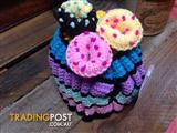 Hand-knitted Cupcake Tea/Cozy/Baby Beanie - Geelong