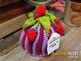 Handmade Strawberry Design Tea Cozy/Baby Beanie - Geelong