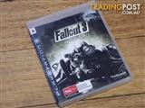 Fallout 3 PS3 Playstation Game In Geelong