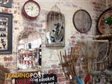 Rustic Grand Birdcage Mirror - Geelong