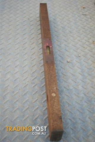 Antique Vintage SPIRIT LEVEL wood