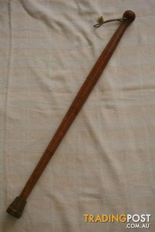 Wooden Ball Handle WALKING STICK CANE