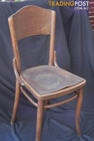 Antique Original THONET BENTWOOD Dining CHAIR Seat