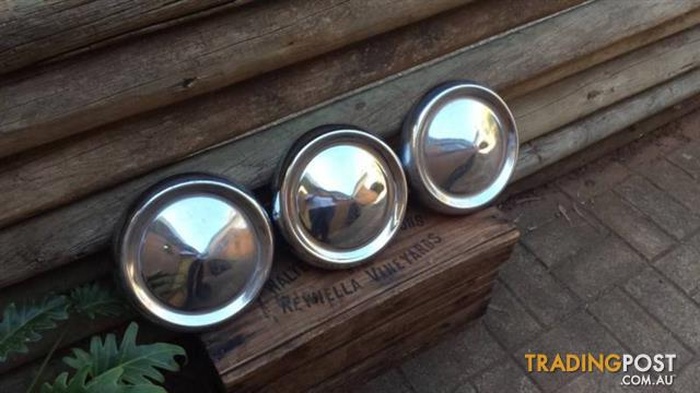 Ford Cortina Mark 2 Hub Caps x 3. Suit Ford 13 inch rims