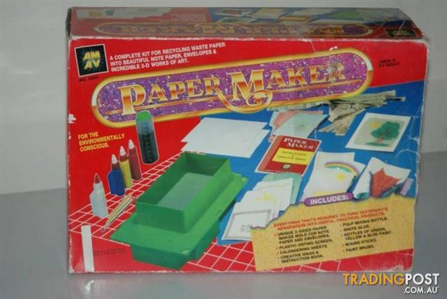 HANDMADE PAPER MAKING KIT CRAFT PAPER MAKER