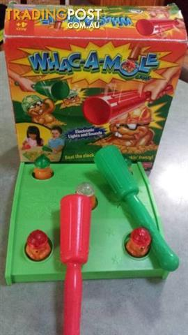 WHAC-A-MOLE GAME Fisher Price games childrens