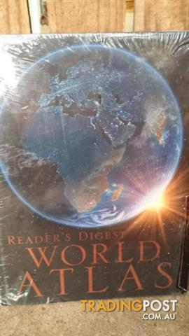 New READERS DIGEST WORLD ALTAS
