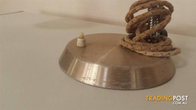 Retro Anodised Bedside Lamp
