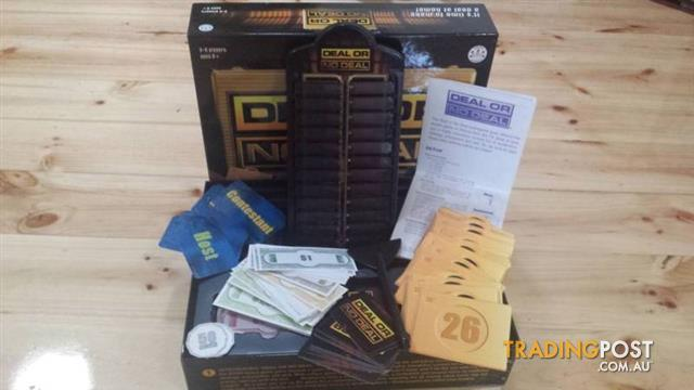 BOARD GAME DEAL OR NO DEAL