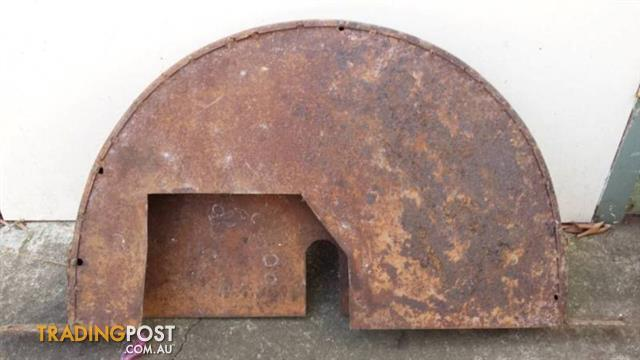 Large Cuting SAW BLADE COVER PROTECTOR metal casing vintage