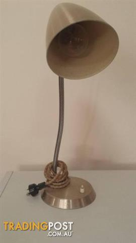 Vintage GOOSE NECK DESK LAMP