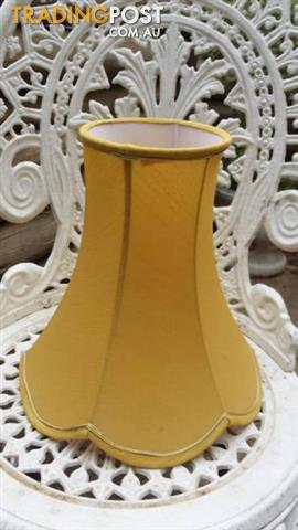 Retro LAMP SHADE YELLOW light