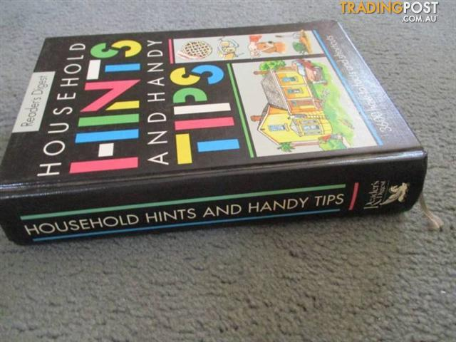 Readers Digest Household Hints BOOK