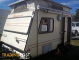 VISCOUNT - Nipper, 2 x Single Beds, R/O, Annex, LIGHT to TOW