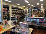 Book Shop Fitout furniture fittings and shelving