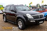 2005  SsangYong Rexton Limited Y220 Wagon