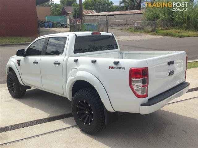 2011 ford ranger 4x2 px xl dual cab double cab high rider ute for sale in st marys nsw 2011. Black Bedroom Furniture Sets. Home Design Ideas