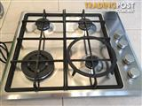 Fisher & Paykel Gas Cook top. - Square with 4 burners