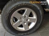 "Jeep JK Wrangler Wheels & Tyres - Stock 17"" Goodyear x5"