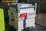 960Ltr Self Bunded Steel Cube Fuel Tank