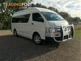 2012 Toyota Hiace Commuter High Roof Super LWB KDH223R MY11 Bus
