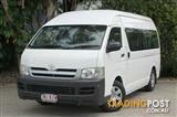 2007 Toyota Hiace Commuter High Roof Super LWB TRH223R Bus