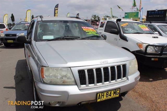 2003 Jeep Grand Cherokee Limited Wg My2004 Wagon