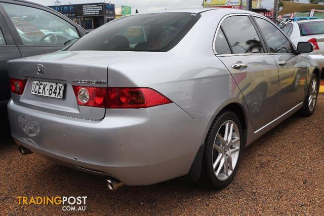 2005 honda accord v6 luxury sedan for sale in minchinbury. Black Bedroom Furniture Sets. Home Design Ideas