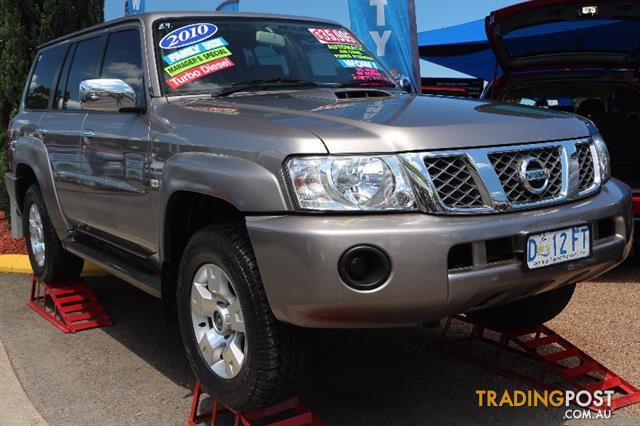 2009 Nissan Patrol Dx Gu 6 My08 Wagon For Sale In Minchinbury Nsw