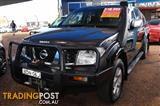 2007  NISSAN NAVARA DUAL CAB STX D40 UTE