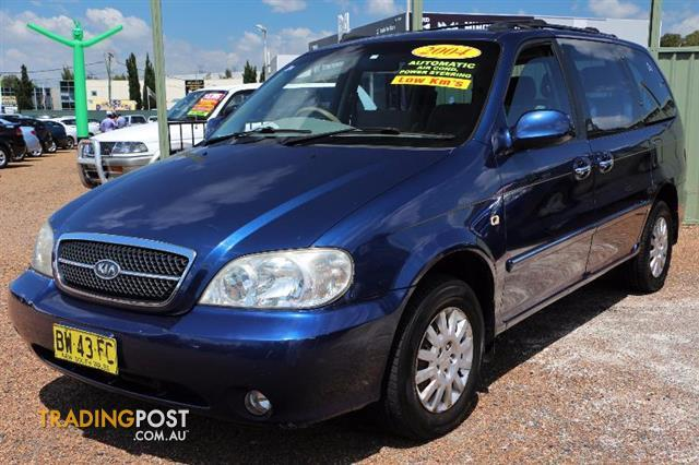 2004 kia carnival wagon for sale in minchinbury nsw 2004 kia carnival wagon. Black Bedroom Furniture Sets. Home Design Ideas