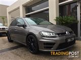 2016 VOLKSWAGEN GOLF R WOLFSBURG EDITION 7 HATCHBACK